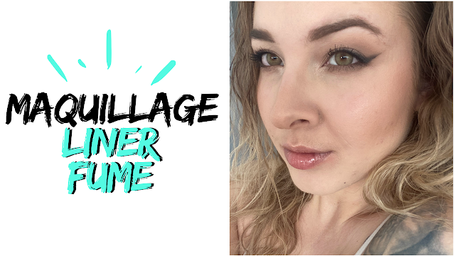 maquillage tuto liner fumé simple rapide