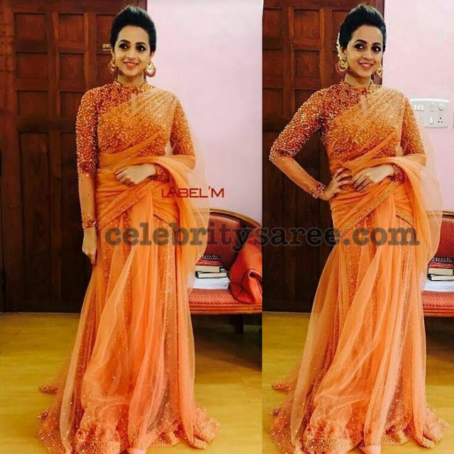 bhavana-half-sarees-crop-tops1