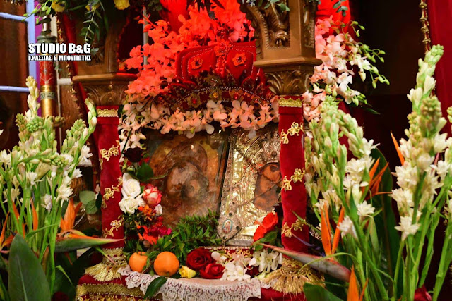 Γιορτάζει η Παναγία η Πορτοκαλούσα στο Άργος