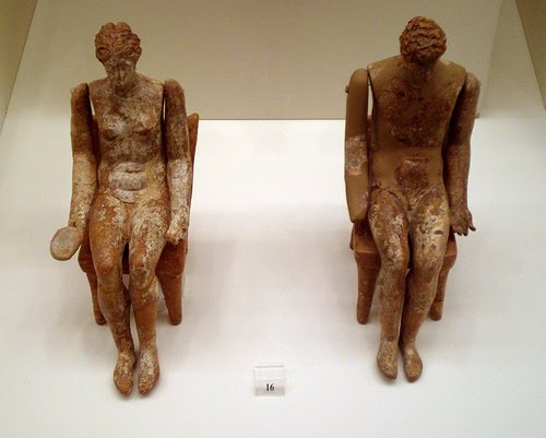 Ancient Greek Theater dolls