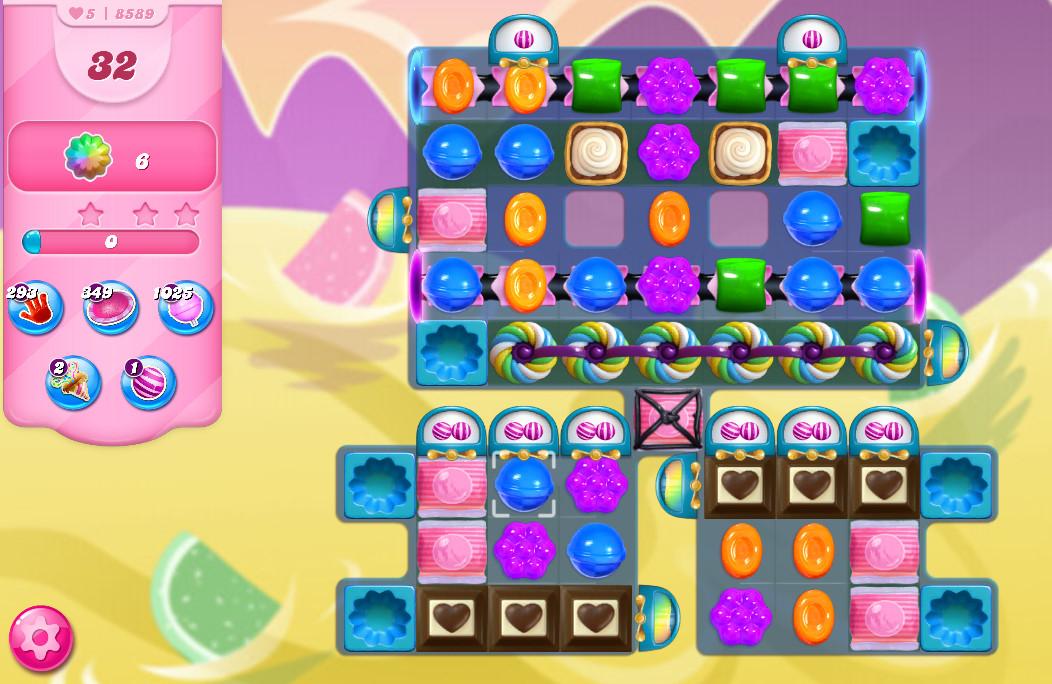 Candy Crush Saga level 8589