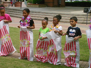Kids Club Potato Sack Race