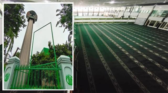 Masjid Al Falah Lockdown Total, Salat Berjamaah Ditiadakan