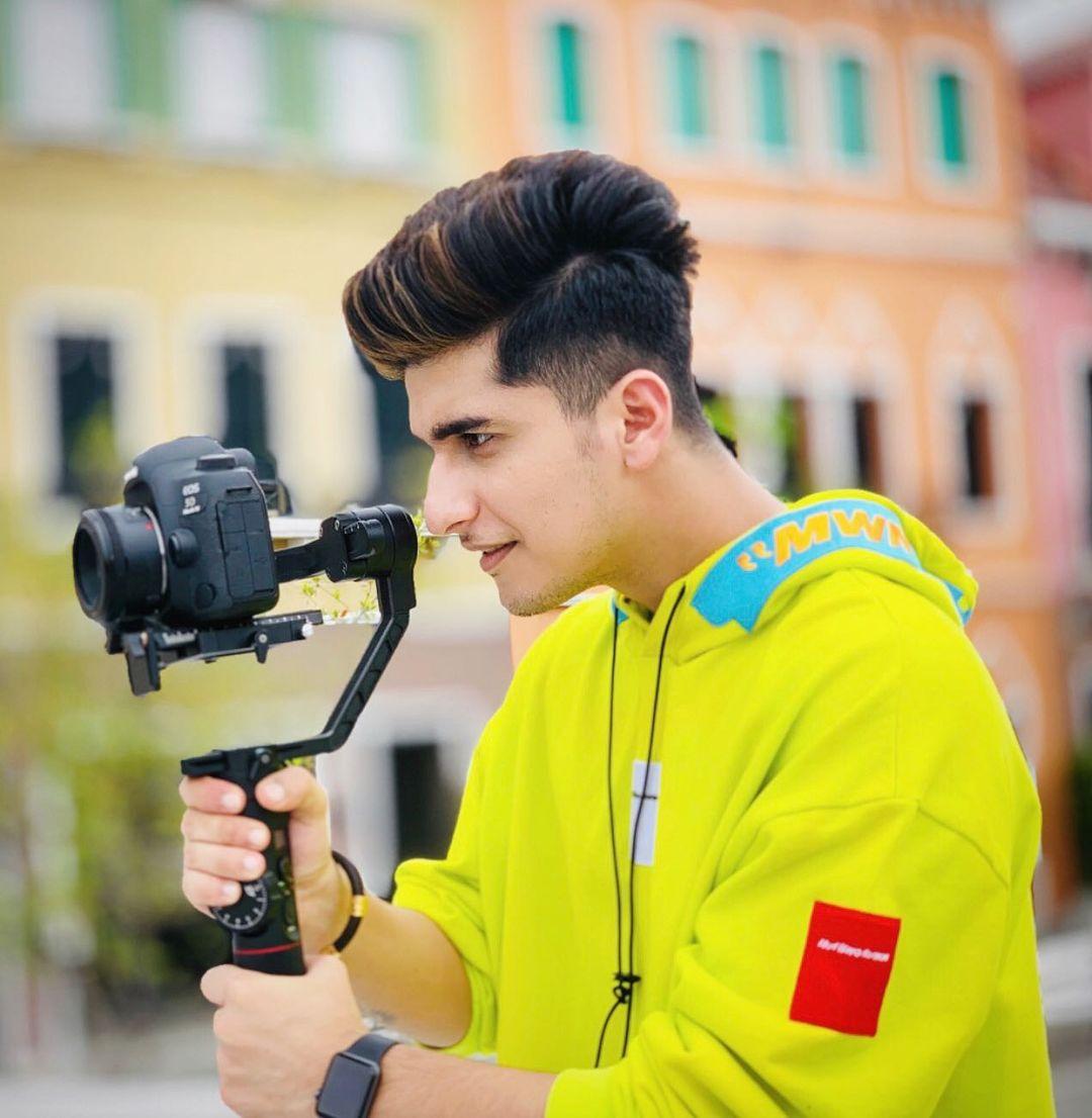 Bhavin Bhanushali with camera