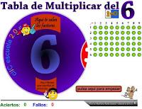 http://www.eltanquematematico.es/tablasnuevas/tabladel6_p.html