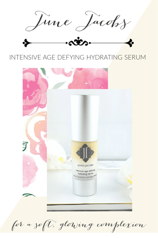June Jacobs Intensive Age Defying Hydrating Serum is a Gift to Dry Skin