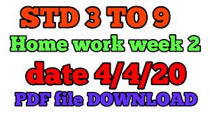 HOME WORK WEEK-2