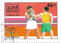 Selo Boxe nas Olimpíadas de 1984