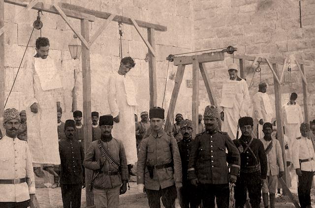 Las cuatro negaciones turcas del genocidio armenio