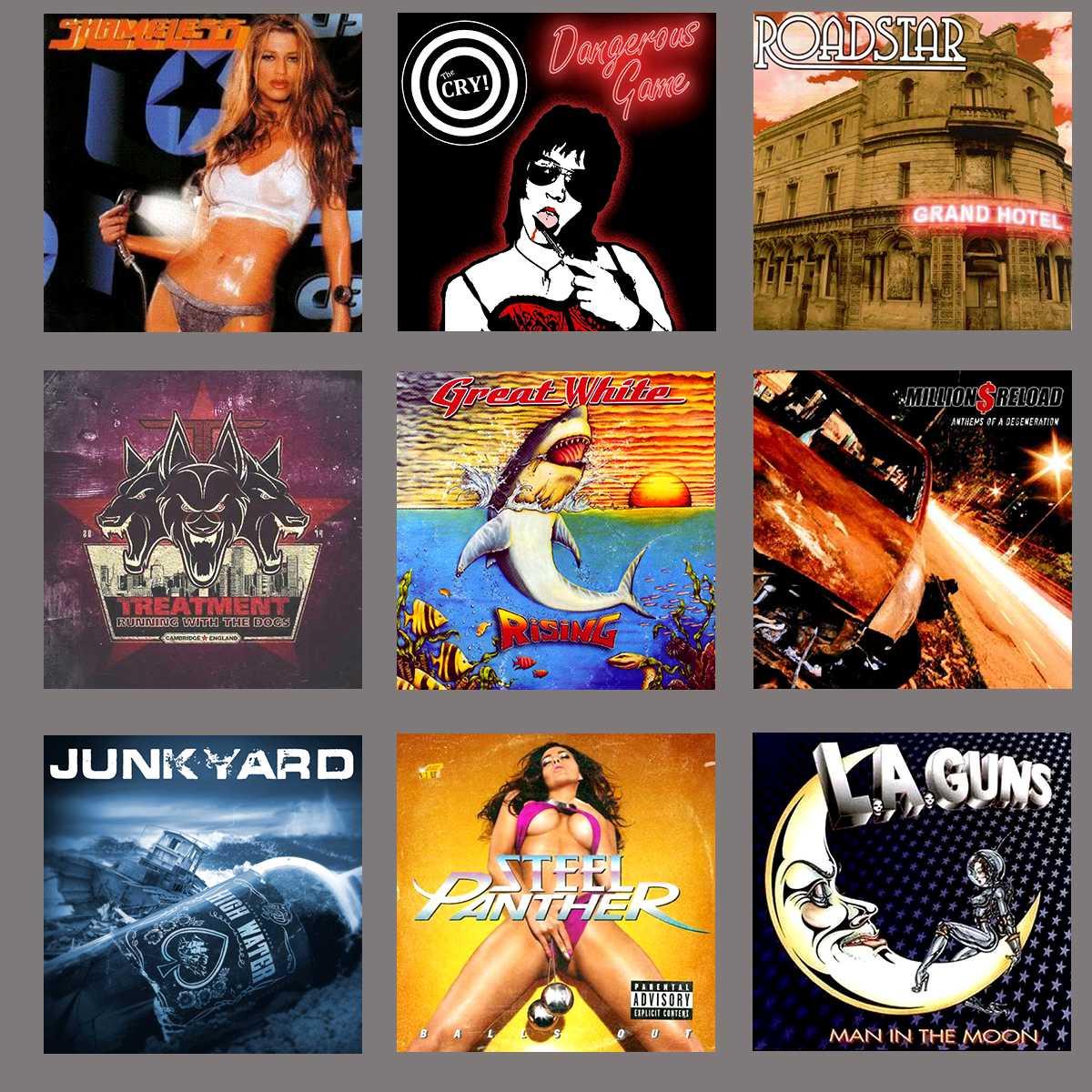 10 discos de Hard, Glam y Sleaze del siglo 21 - Página 2 Menciones