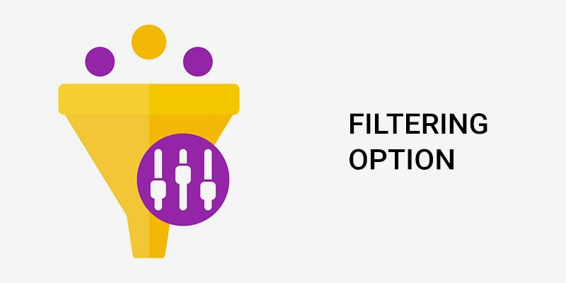 Filtering option For Your eCommerce Store