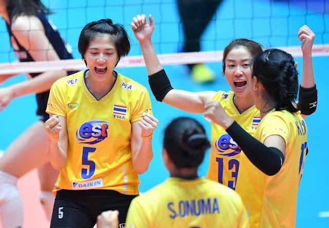 Cúp vô địch nữ châu Á 2019: Thái Lan gây sốc!