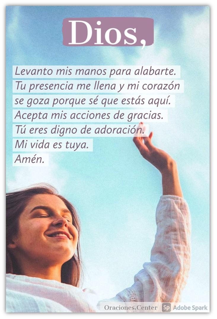 Oración y Frases de Alabanza a Dios