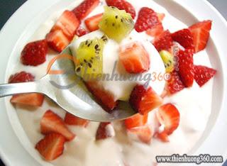 Trái cây dầm là loại thức uống giảm cân vừa ngon, vừa bổ dưỡng