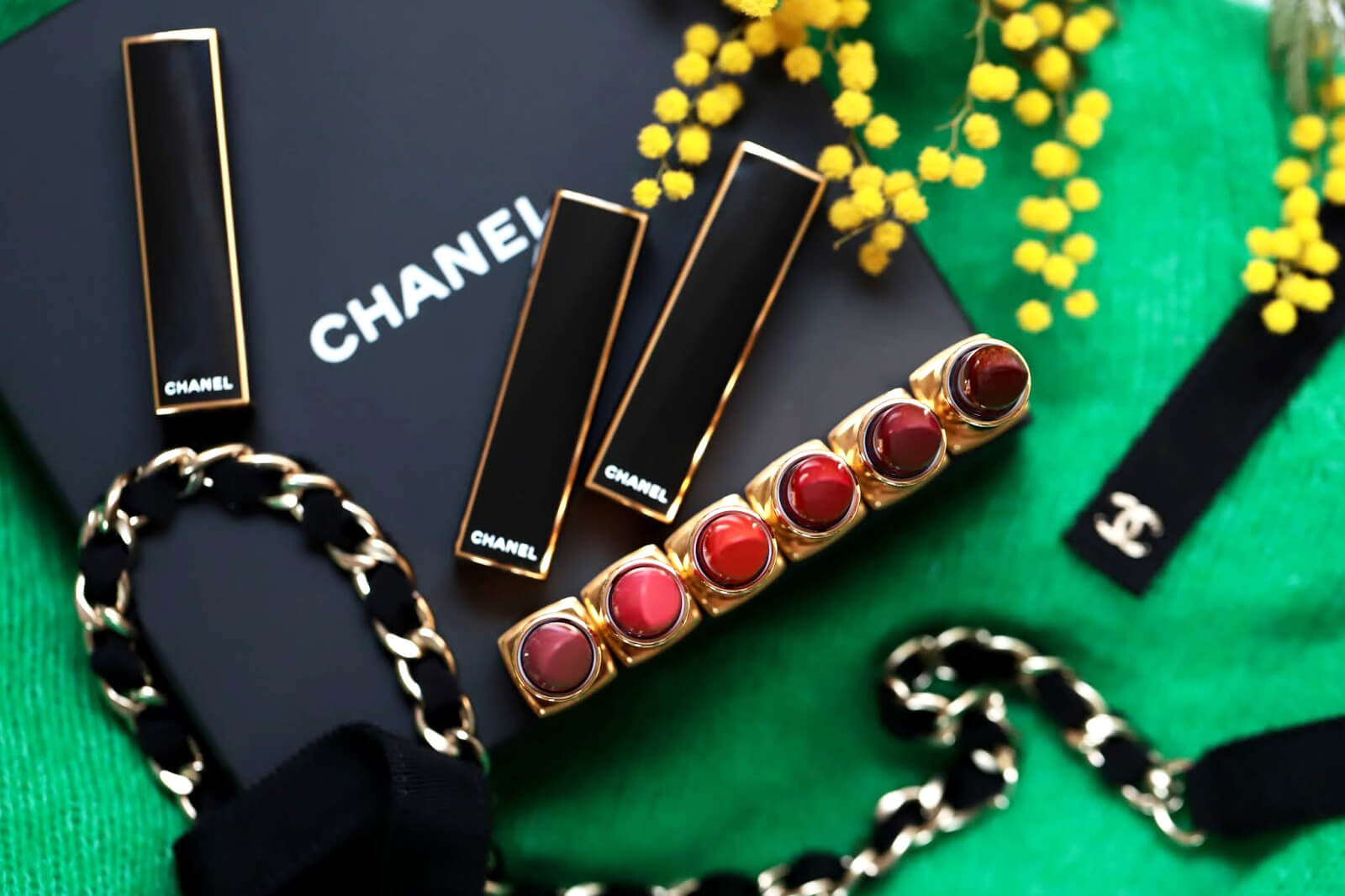 chanel rouge allure rouge intense édition Noël 2019 avis