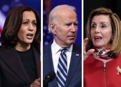 VP Kamala Harris, Pres Joe Biden, Nancy Pelosi