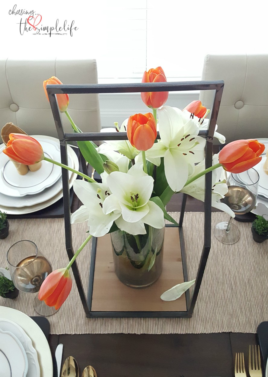 Spring Table Decor