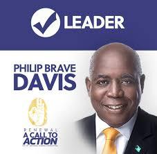 PLP Leader - Philip Brave Davis