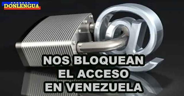 Principales operadores de Internet en Venezuela bloquean acceso a Donlengua y otros portales opositores