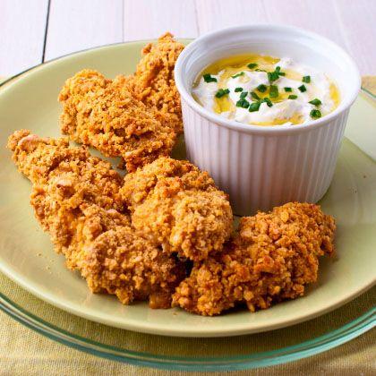Crunchy Chicken Nuggets Recipe