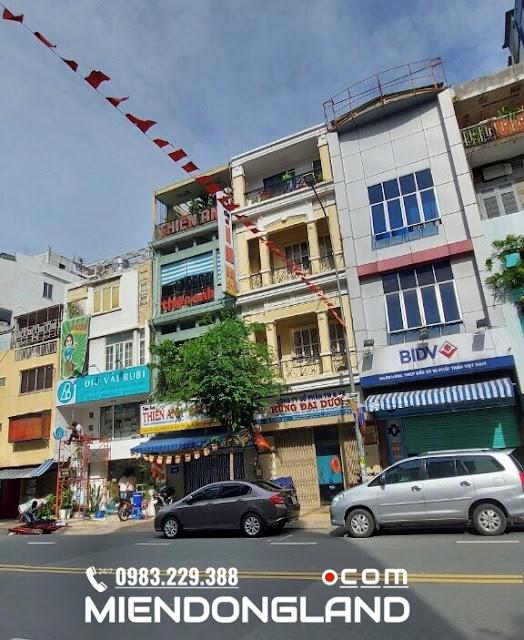 Bán nhà Võ Văn Tần. Phường 5. Quận 3. Giáp Quận 1