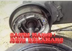 GANTI KAMPAS REM BELAKANG MOTOR MATIC