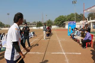 सम्मान अभियान अंतर्गत नेहरू स्टेडियम ग्राउंड में, खेल प्रतियोगिता का किया गया आयोजन