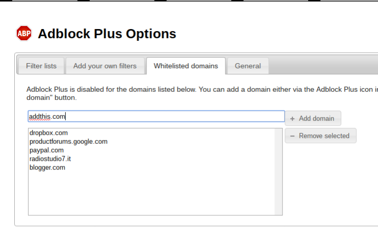 Add On Chrome Adblock Plus
