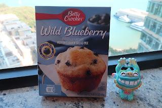藍莓鬆餅混合粉 Blueberry Muffin