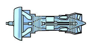 المحركات التوربينية Turboprops