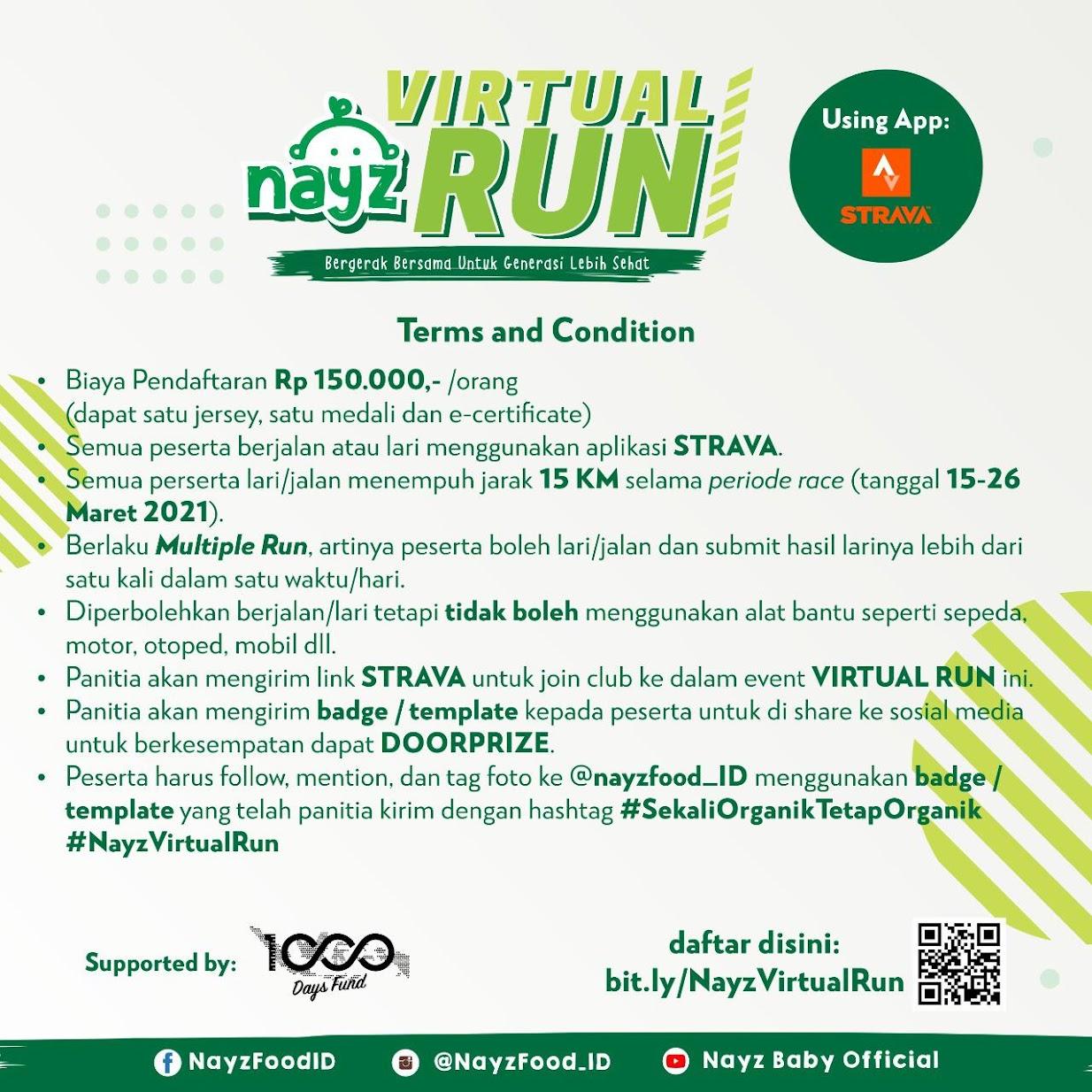 Nayz Virtual Run • 2021