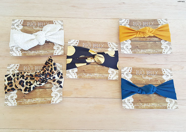 These adorable accessories for your baby and toddler are the perfect way to make sure your little diva always looks like a true fashionista! Find out more about Rug Belly Boutique...