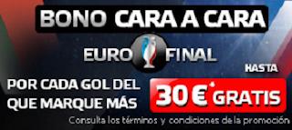 suertia bono cara a cara Ronaldo vs Griezmann Eurocopa 2016 10 julio
