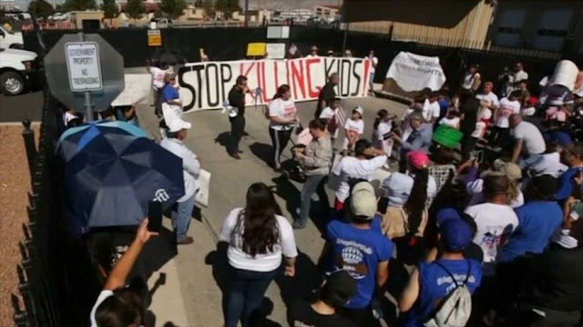 Estadounidenses protestan contra políticas migratorias de Trump