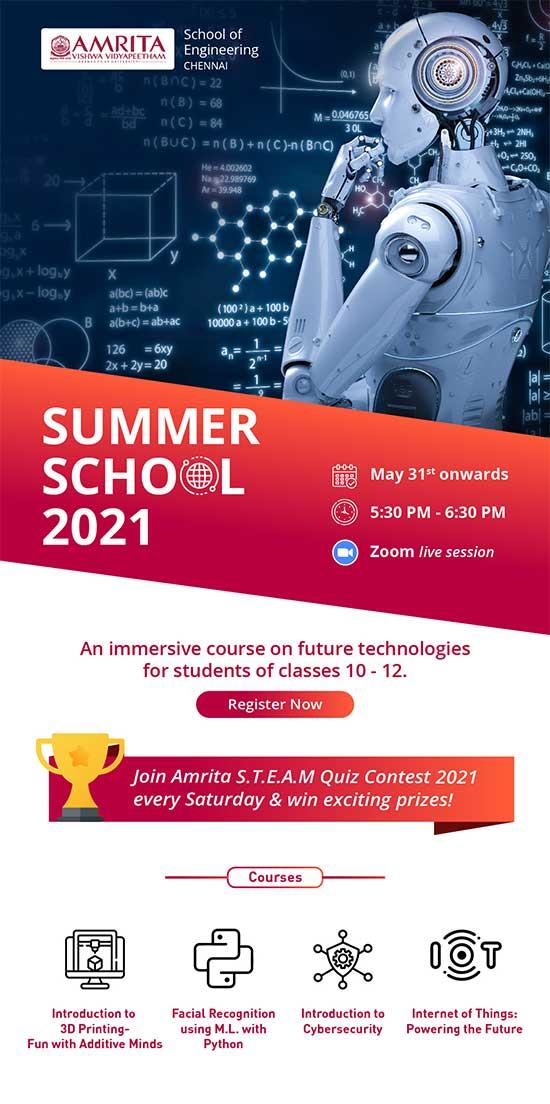 Amrita's Summer School Classes 2021