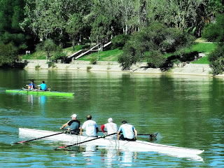 Regata no Lago do Parque General San Martín, Mendoza