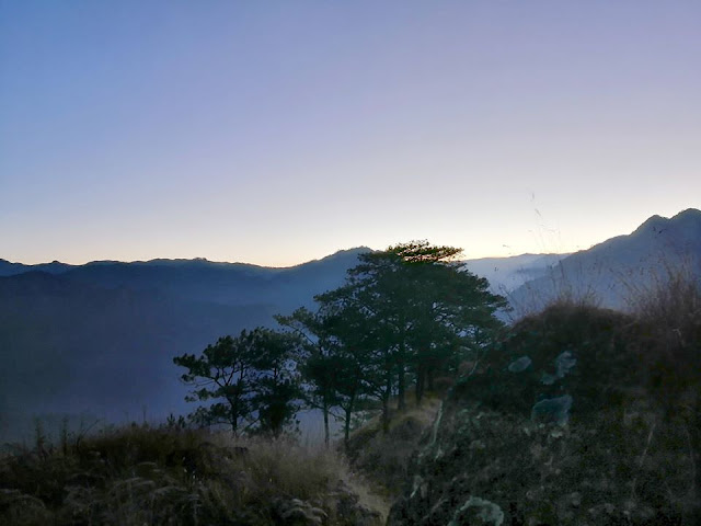 Dawn at Mount Kabunian