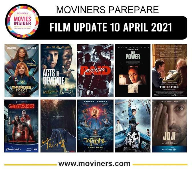 FILM UPDATE 10 APRIL 2021