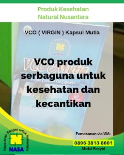 VCO ( VIRGIN ) Kapsul Mutia 60 Kapsul