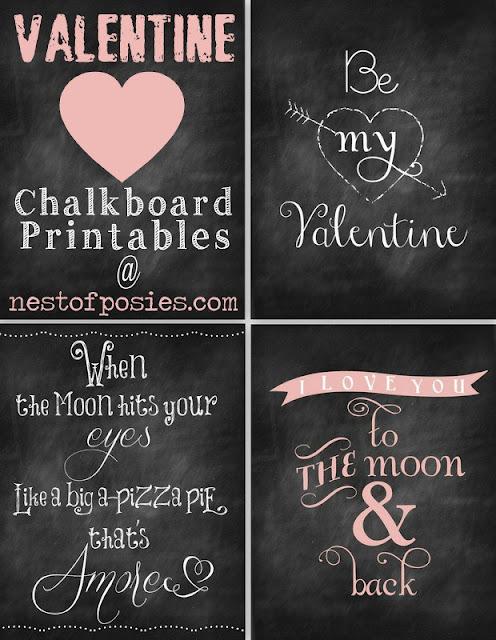 Free Valentine's Printables