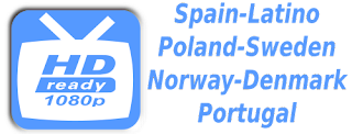 TVP Poland Spain RTP Portugal Sweden Norway M3U