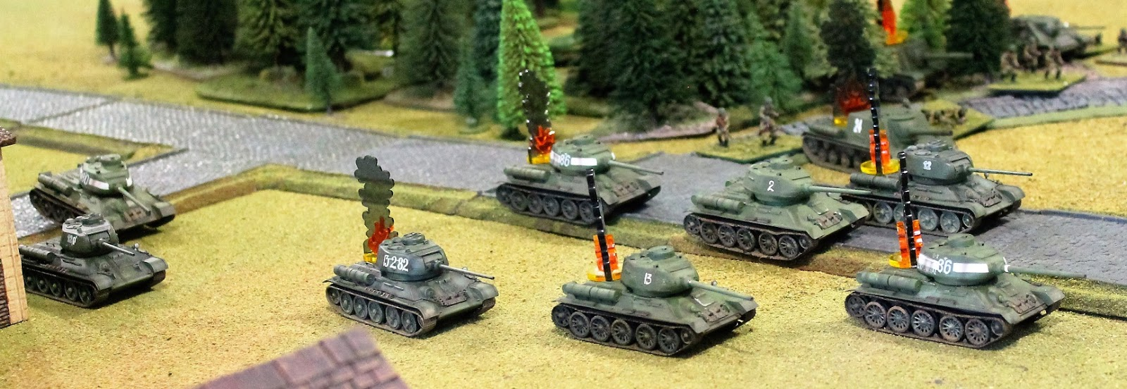 Sparker 39 s wargaming blog flames of war desperate for Table 6 gunnery