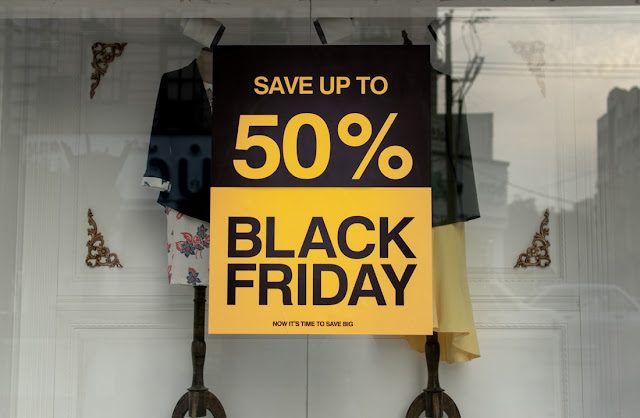 black friday discount 50 percent