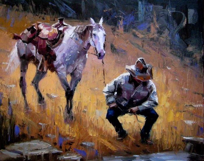 Современный китайский художник. Paul Cheng