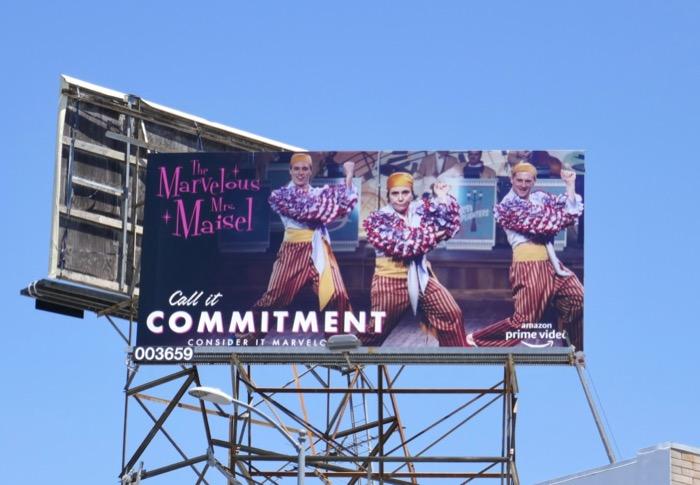 Mrs Maisel season 2 Emmy billboard