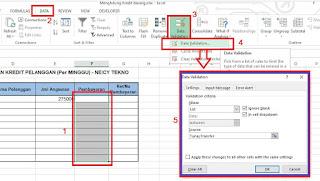 Drop Down List Excel