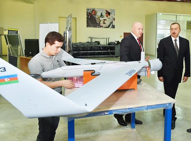 الدرون الانتحاري Orbiter 1K / Zerbe 1K   suicide drone Loitering munition UAV