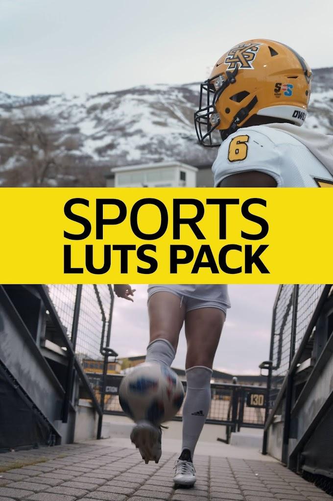 SPORTS LUT PACK[Master Filmmaker][LUTS][Elements]