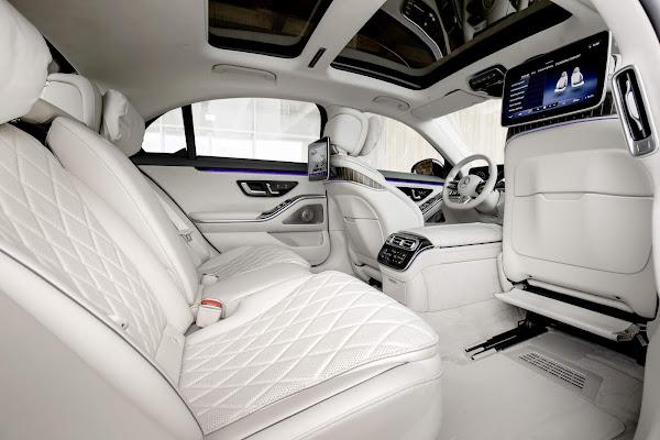 Mercedes Classe S 580e Plug-in Híbrido: autonomia elétrica superior a 100 km