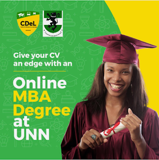 UNN MBA Admission Form 2020/2021 | Distance Learning (CDEL)